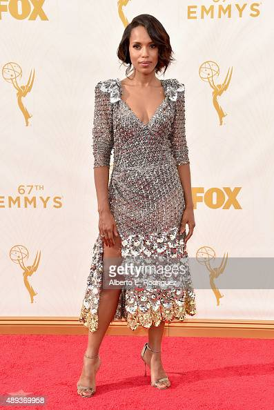 Actress Kerry Washington attends the 67th Emmy Awards at Microsoft Theater on September 20 2015 in Los Angeles California 25720_001