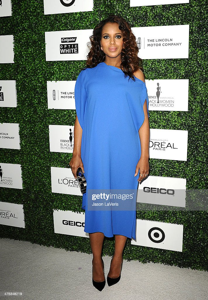 Actress Kerry Washington attends the 7th annual ESSENCE Black Women In Hollywood luncheon at Beverly Hills Hotel on February 27, 2014 in Beverly Hills, California.