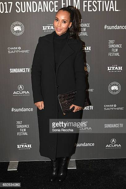 Actress Kerry Washington attends the 'Crown Heights' Premiere at Library Center Theater on January 23 2017 in Park City Utah