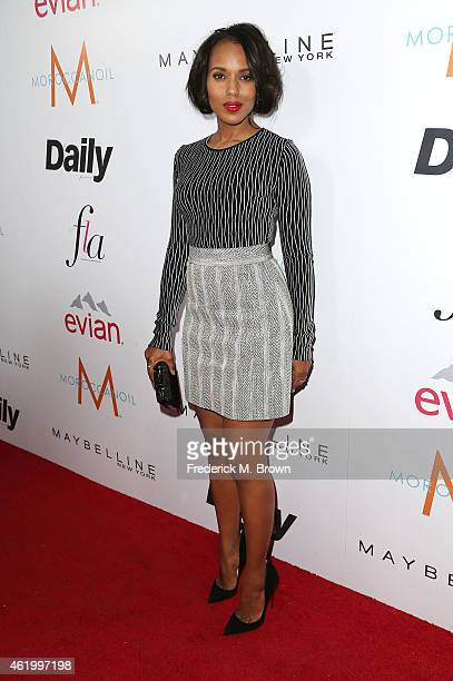 Actress Kerry Washington attends The DAILY FRONT ROW 'Fashion Los Angeles Awards' at the Sunset Tower Hotel on January 22 2015 in West Hollywood...