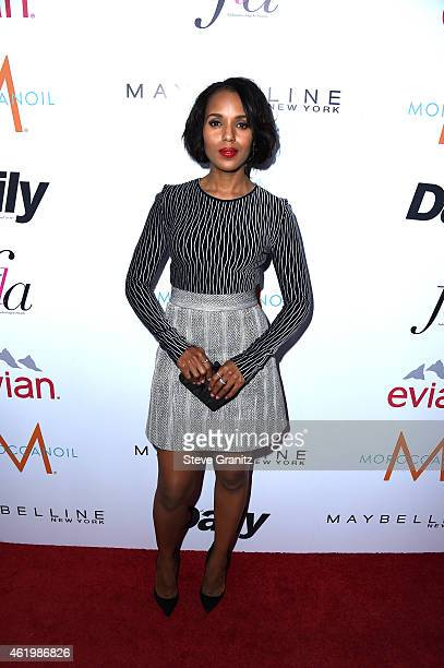 Actress Kerry Washington attends The Daily Front Row's 1st Annual Fashion Los Angeles Awards at Sunset Tower Hotel on January 22 2015 in West...