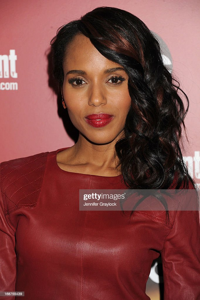 Actress <a gi-track='captionPersonalityLinkClicked' href=/galleries/search?phrase=Kerry+Washington&family=editorial&specificpeople=201534 ng-click='$event.stopPropagation()'>Kerry Washington</a> attends the Entertainment Weekly & ABC 2013 New York Upfront Party at The General on May 14, 2013 in New York City.