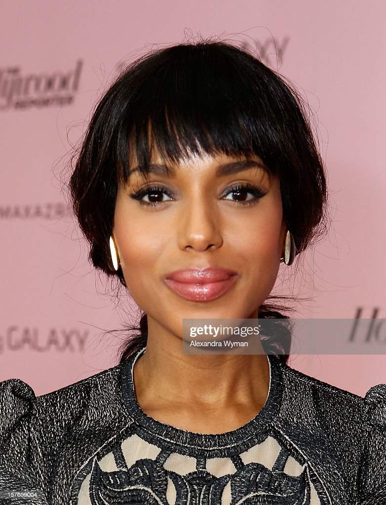 Actress Kerry Washington attends The Hollywood Reporter's 'Power 100: Women In Entertainment' Breakfast at the Beverly Hills Hotel on December 5, 2012 in Beverly Hills, California.