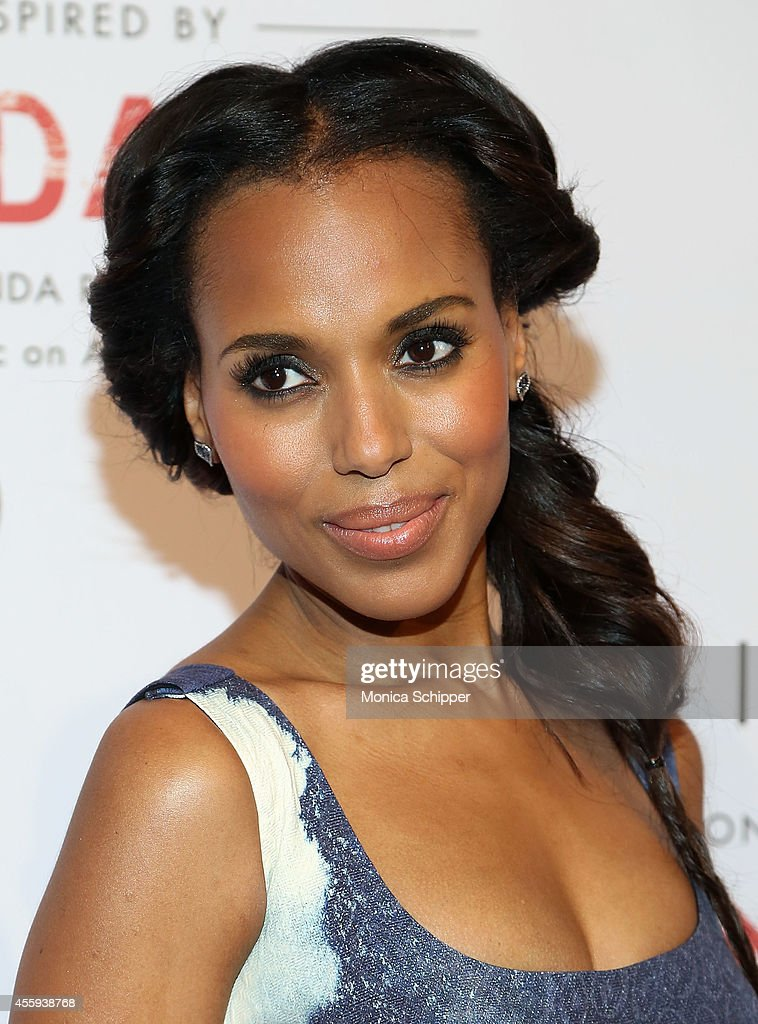 Actress Kerry Washington attends The Limited Collection Inspired by Scandal Launch Event at IAC Building on September 22 2014 in New York City