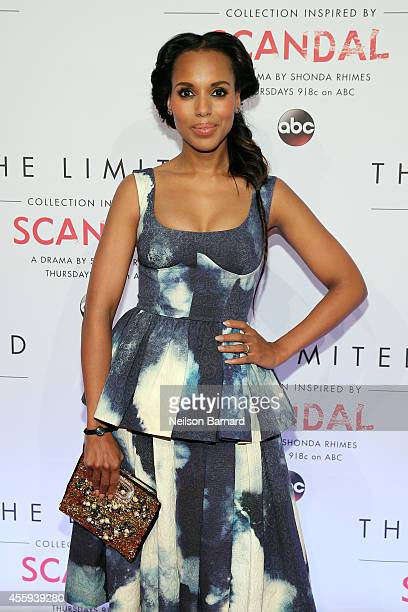 Actress Kerry Washington attends The Limited Scandal Collection Launch Event at IAC Building on September 22 2014 in New York City