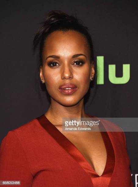 Actress Kerry Washington attends The Paley Center For Media's 34th Annual PaleyFest Los Angeles 'Scandal' screening and panel at the Dolby Theatre on...