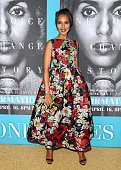 Actress Kerry Washington attends the premiere of 'Confirmation' at Paramount Theater on the Paramount Studios lot on March 31 2016 in Hollywood...