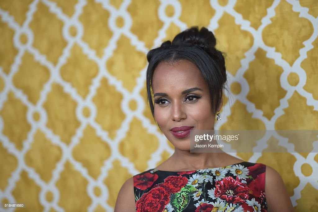Actress <a gi-track='captionPersonalityLinkClicked' href=/galleries/search?phrase=Kerry+Washington&family=editorial&specificpeople=201534 ng-click='$event.stopPropagation()'>Kerry Washington</a> attends the premiere of HBO Films' 'Confirmation' at Paramount Theater on the Paramount Studios lot on March 31, 2016 in Hollywood, California.
