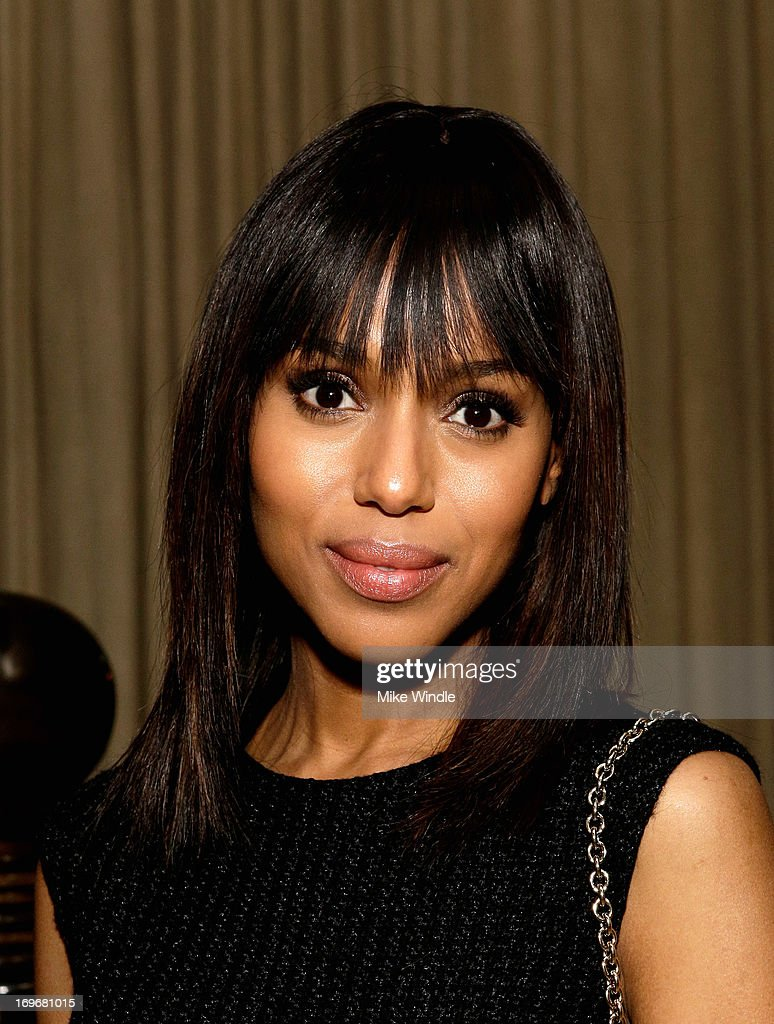 Actress <a gi-track='captionPersonalityLinkClicked' href=/galleries/search?phrase=Kerry+Washington&family=editorial&specificpeople=201534 ng-click='$event.stopPropagation()'>Kerry Washington</a> attends the Variety Emmy Studio at Palihouse on May 30, 2013 in West Hollywood, California.