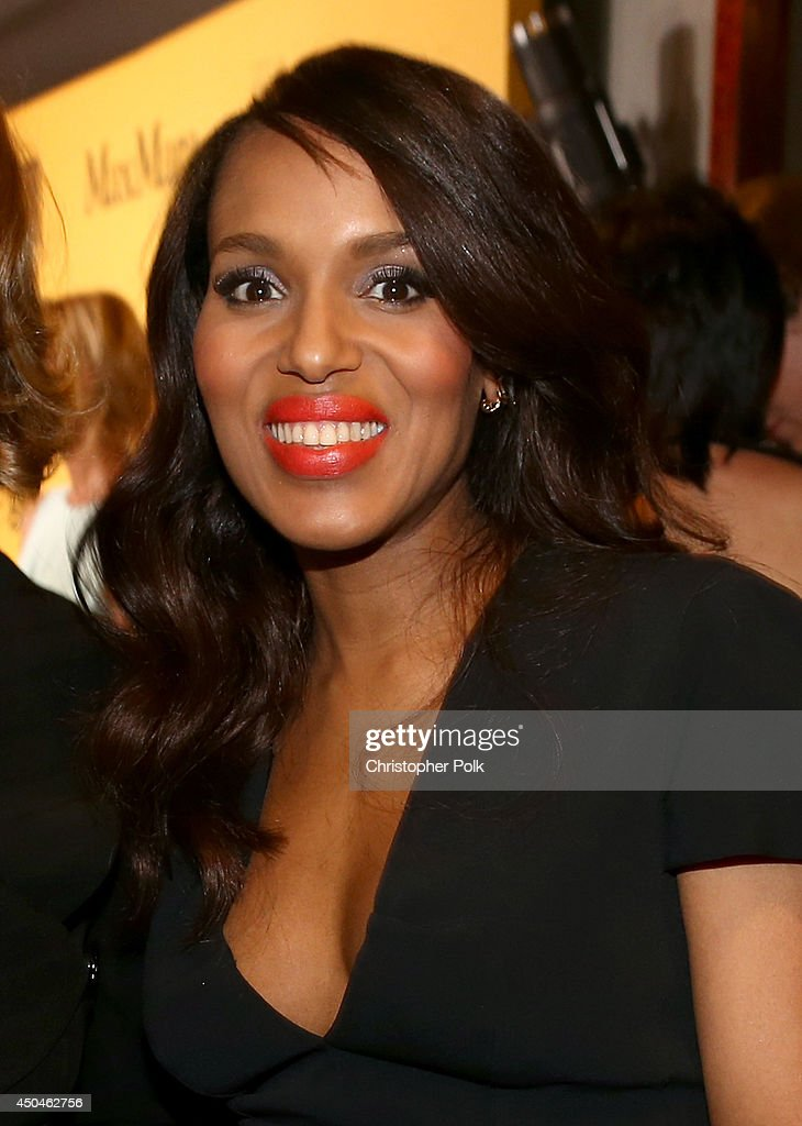 Actress <a gi-track='captionPersonalityLinkClicked' href=/galleries/search?phrase=Kerry+Washington&family=editorial&specificpeople=201534 ng-click='$event.stopPropagation()'>Kerry Washington</a> attends Women In Film 2014 Crystal + Lucy Awards presented by MaxMara, BMW, Perrier-Jouet and South Coast Plaza held at the Hyatt Regency Century Plaza on June 11, 2014 in Los Angeles, California.