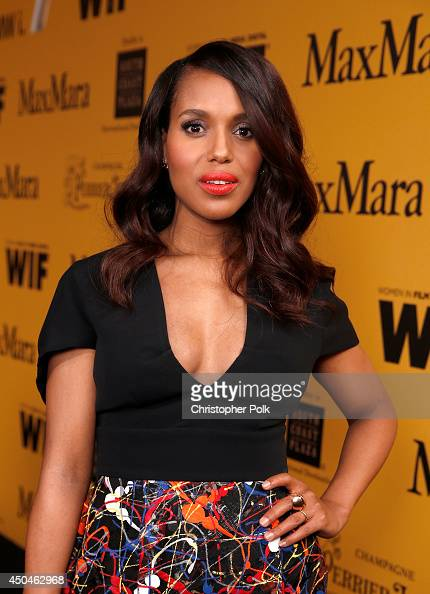 Actress Kerry Washington attends Women In Film 2014 Crystal Lucy Awards presented by MaxMara BMW PerrierJouet and South Coast Plaza held at the Hyatt...