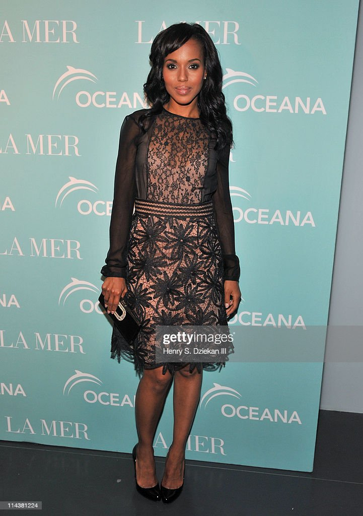 Actress Kerry Washington attends World Ocean Day 2011 celebrated by La Mer and Oceana at Affirmation Arts on May 18, 2011 in New York City.