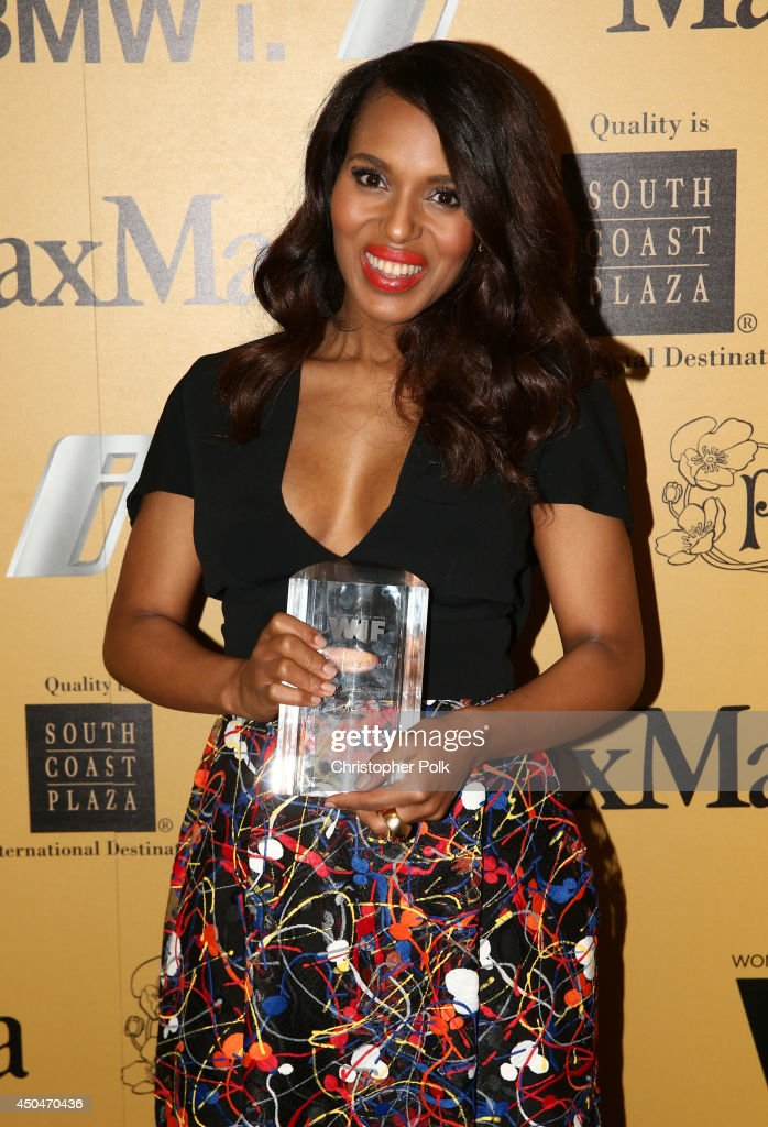Actress Kerry Washington, Lucy Award for Excellence in Television recipient, attends Women In Film 2014 Crystal + Lucy Awards presented by MaxMara, BMW, Perrier-Jouet and South Coast Plaza held at the Hyatt Regency Century Plaza on June 11, 2014 in Los Angeles, California.