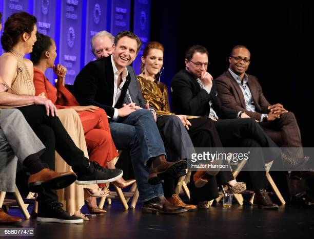 Actress Kerry Washington on stage for the 'Scandal' panel The Paley Center For Media's 34th Annual PaleyFest Los Angeles ' at Dolby Theatre on March...