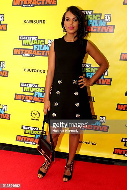 Actress Kerry Washington speaks onstage at 'Kerry Washington and the New Rules of Social Stardom' during the 2016 SXSW Music Film Interactive...