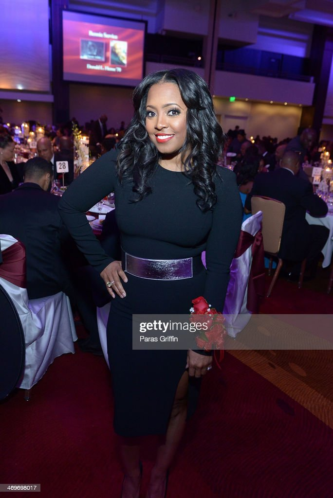 Actress Keshia Knight Pulliam attends the 26th Annual 'A Candle in the Dark' Gala and Inaugural Ball at The Hyatt Regency Atlanta on February 15, 2014 in Atlanta, Georgia.