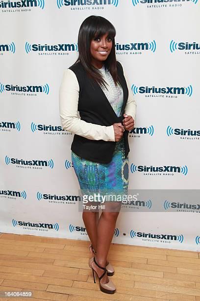 Actress Keshia Knight Pulliam visits SiriusXM Studios on March 19 2013 in New York City