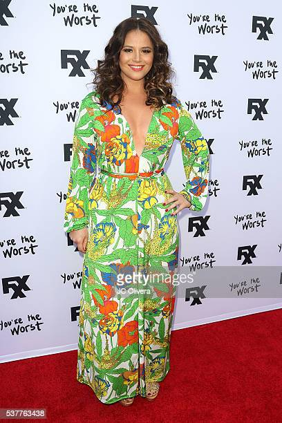 Actress Kether Donohue attends For Your Consideration Event For FX's 'You're The Worst' at ArcLight Hollywood on June 2 2016 in Hollywood California