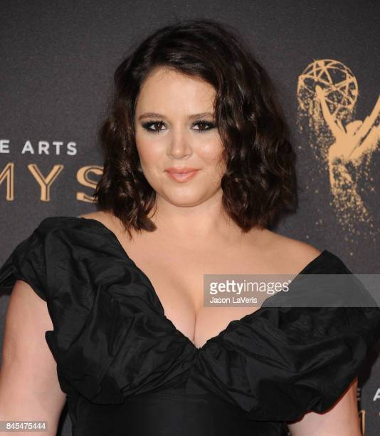 Actress Kether Donohue attends the 2017 Creative Arts Emmy Awards at Microsoft Theater on September 10 2017 in Los Angeles California