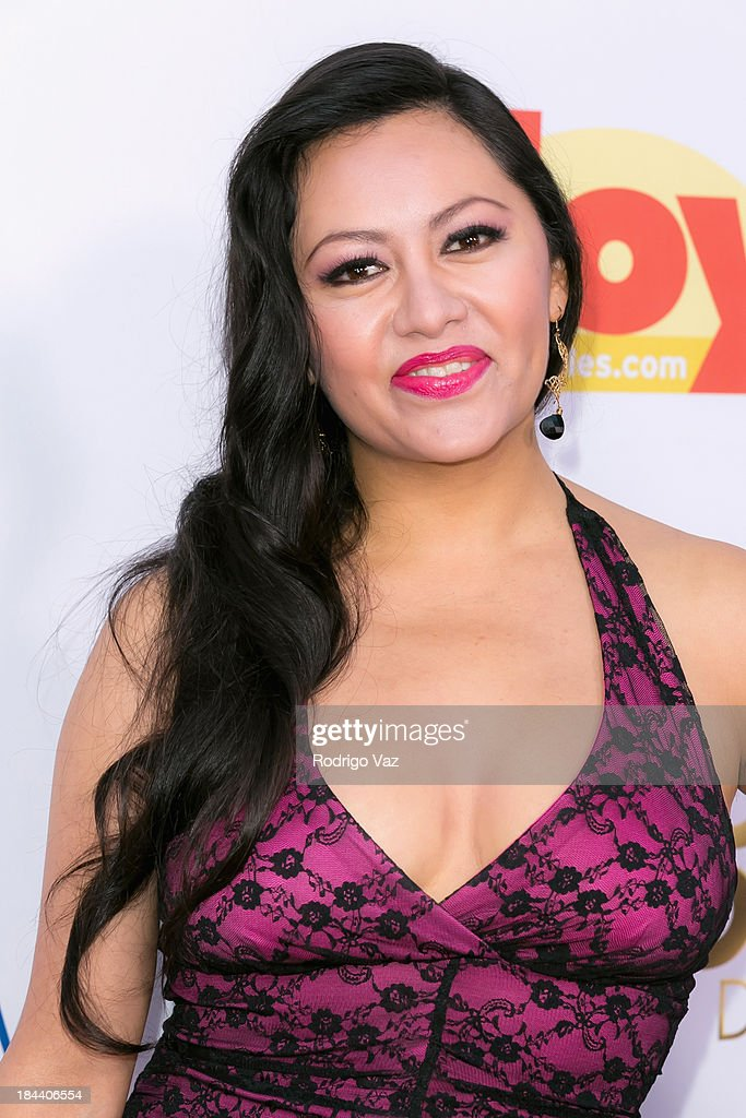 Actress Keyla Wood arrives at the 2013 Latinos De Hoy Awards at Los Angeles Times Chandler Auditorium on October 12, 2013 in Los Angeles, California.