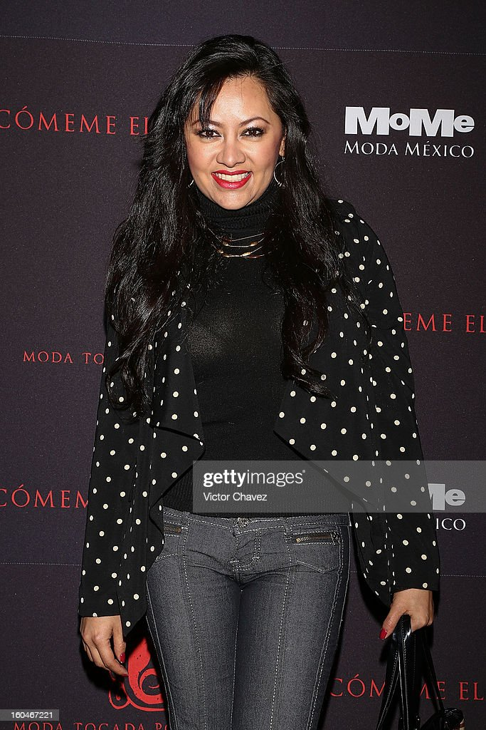 Actress Keyla Wood attends the Comeme El corazon Moda Tocada Por Los Dioses event at Estacion Indianilla on January 31, 2013 in Mexico City, Mexico.