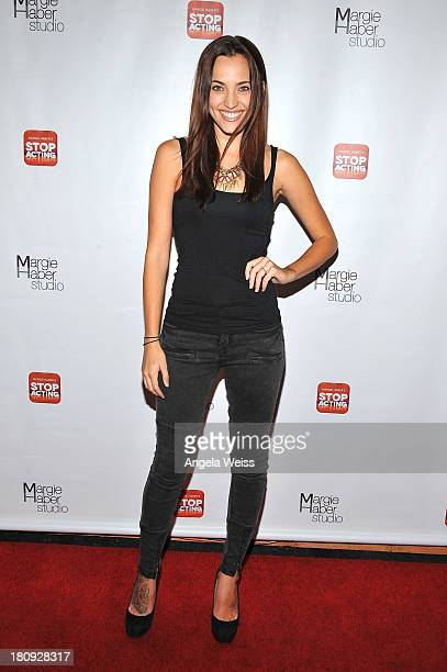 Actress Kherington Payne arrives at Margie Haber Studio's 'Stop Acting App The Audition Class with Margie Haber' release launch party at Aventine...
