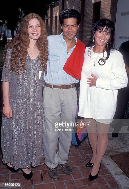 Actress Khrystyne Haje actor Esai Morales and actress Joyce DeWitt attend the Hollenbeck Youth Center's Second Annual InnerCity Games Opening Night...