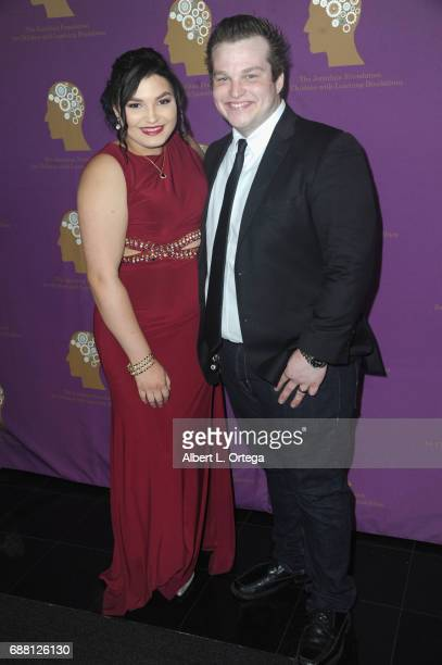 Actress Kiana Lyz Rivera and actor Dustynn Cerney arrive for The Jonathan Foundation Presents The 2017 Spring Fundraising Event To Benefit Children...