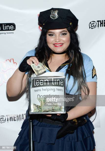 Actress Kiana Lyz Rivera attends Mateo Simon's Halloween Charity Event on October 28 2017 in Burbank California