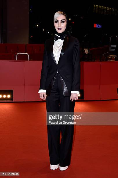 Actress Kiana Tajammol attends the 'A Dragon Arrives' premiere during the 66th Berlinale International Film Festival Berlin at Berlinale Palace on...