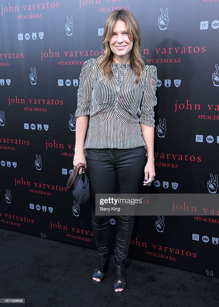 Actress Kiele Sanchez attends the International Peace Day celebration at John Varvatos on September 21, 2014 in Los Angeles, California.