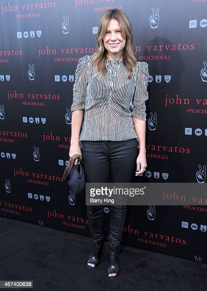 Actress Kiele Sanchez attends the International Peace Day celebration at John Varvatos on September 21 2014 in Los Angeles California
