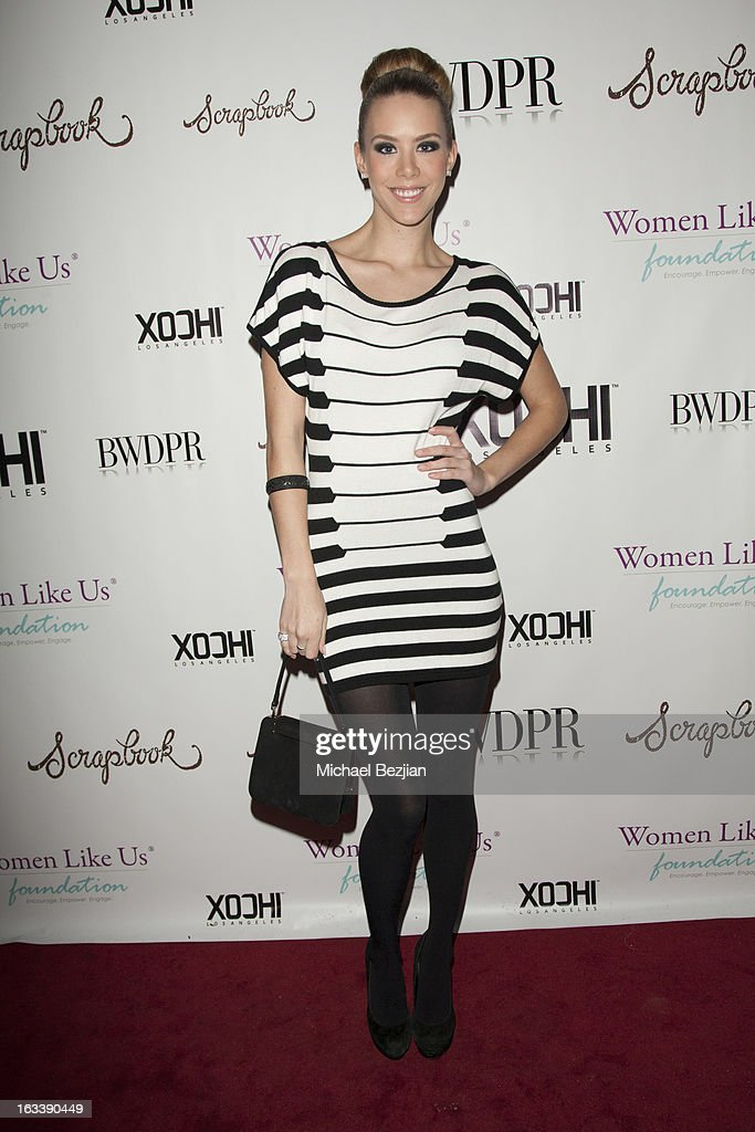 Actress Kier Mellour attends Pre-LAFW Launch Party In Support Of The Women Like Us Foundation at Lexington Social House on March 8, 2013 in Hollywood, California.