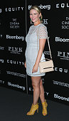Actress Kiera Chaplin attends the screening of Sony Pictures Classics' Equity hosted by The Cinema Society with Bloomberg Thomas Pink at Museum of...