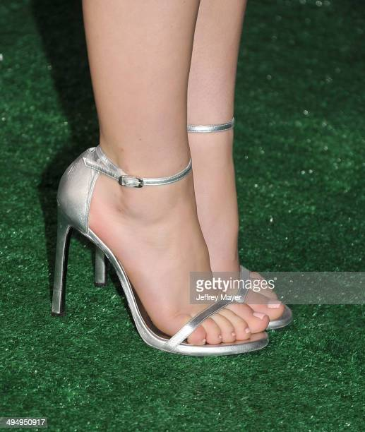 Actress Kiernan Shipka at the Los Angeles premiere of 'Million Dollar Arm' at the El Capitan Theatre on May 6 2014 in Hollywood California