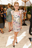 Actress Kiernan Shipka attends CFDA/Vogue Fashion Fund Show and Tea at Chateau Marmont on October 20 2015 in Los Angeles California
