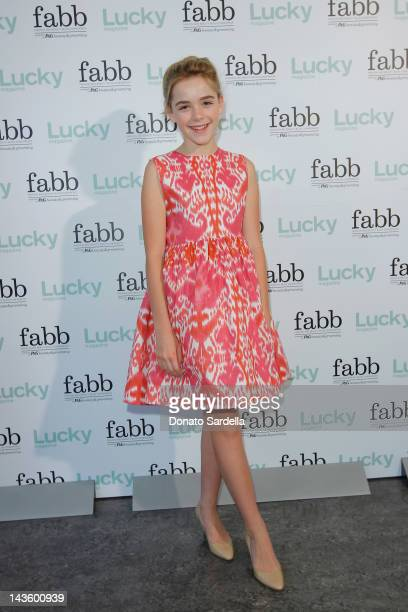 Actress Kiernan Shipka attends the Lucky Magazine Hosts First West Coast FABB Fashion and Beauty Blog Conference held at Annenberg Beach House on...