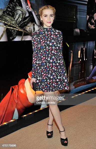 Actress Kiernan Shipka attends 'W Stories' presented by Leon Max and hosted by Stefano Tonchi Leon Max and Amber Valletta at a private residence on...