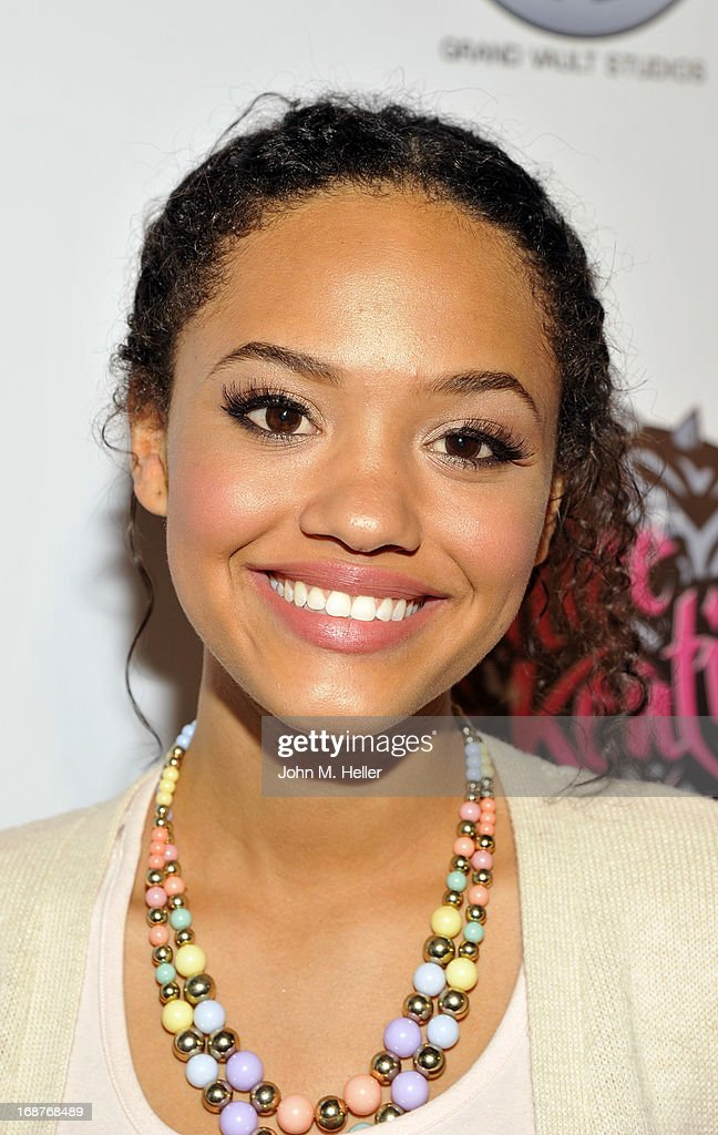 Actress Kiersey Clemmons attends the debut release of Ashlee Keating's new single and the release of her new video at the Avalon on May 14, 2013 in Hollywood, California.