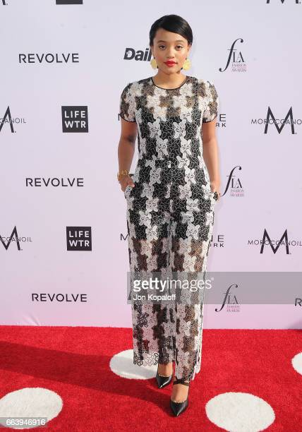 Actress Kiersey Clemons arrives at the Daily Front Row's 3rd Annual Fashion Los Angeles Awards at the Sunset Tower Hotel on April 2 2017 in West...