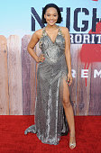 Actress Kiersey Clemons arrives at the Los Angeles Premiere 'Neighbors 2 Sorority Rising' at Regency Village Theatre on May 16 2016 in Los Angeles...