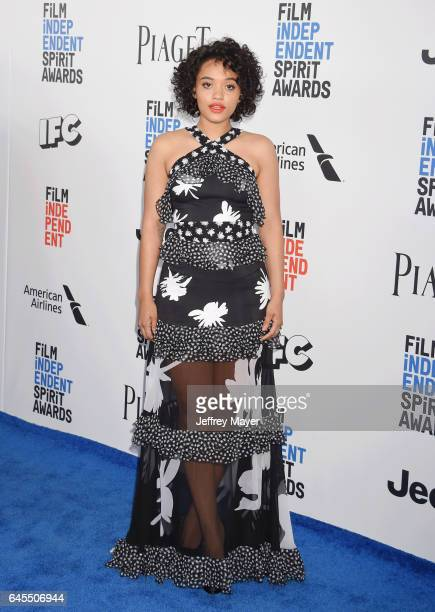 Actress Kiersey Clemons attends the 2017 Film Independent Spirit Awards at the Santa Monica Pier on February 25 2017 in Santa Monica California