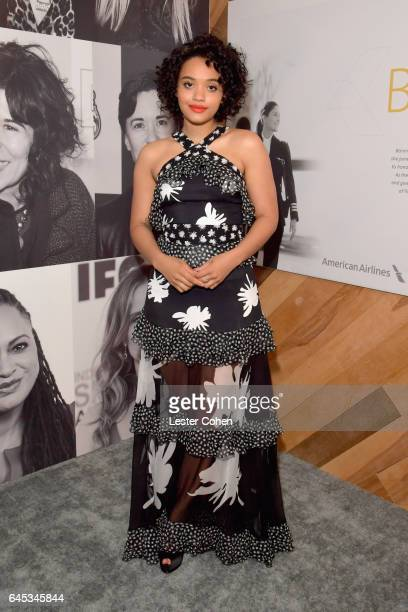 Actress Kiersey Clemons attends the 2017 Film Independent Spirit Awards sponsored by American Airlines at the Santa Monica Pier on February 25 2017...