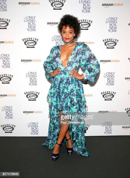 Actress Kiersey Clemons attends 'The Only Living Boy In New York' New York premiere at The Museum of Modern Art on August 7 2017 in New York City
