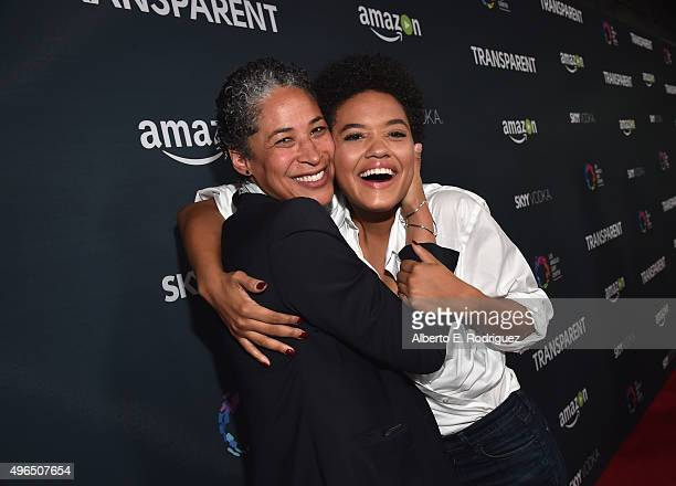 Actress Kiersey Clemons attends the Premiere Of Amazon's 'Transparent' Season 2 at SilverScreen Theater at the Pacific Design Center on November 9...