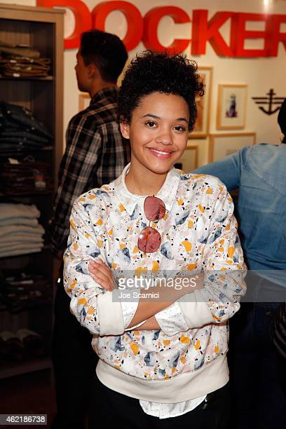 Actress Kiersey Clemons attends The Variety Studio At Sundance Presented By Dockers on January 25 2015 in Park City Utah