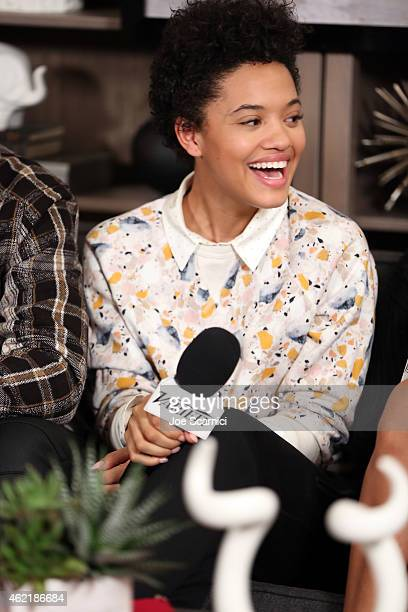 Actress Kiersey Clemons speaks at The Variety Studio At Sundance Presented By Dockers on January 25 2015 in Park City Utah