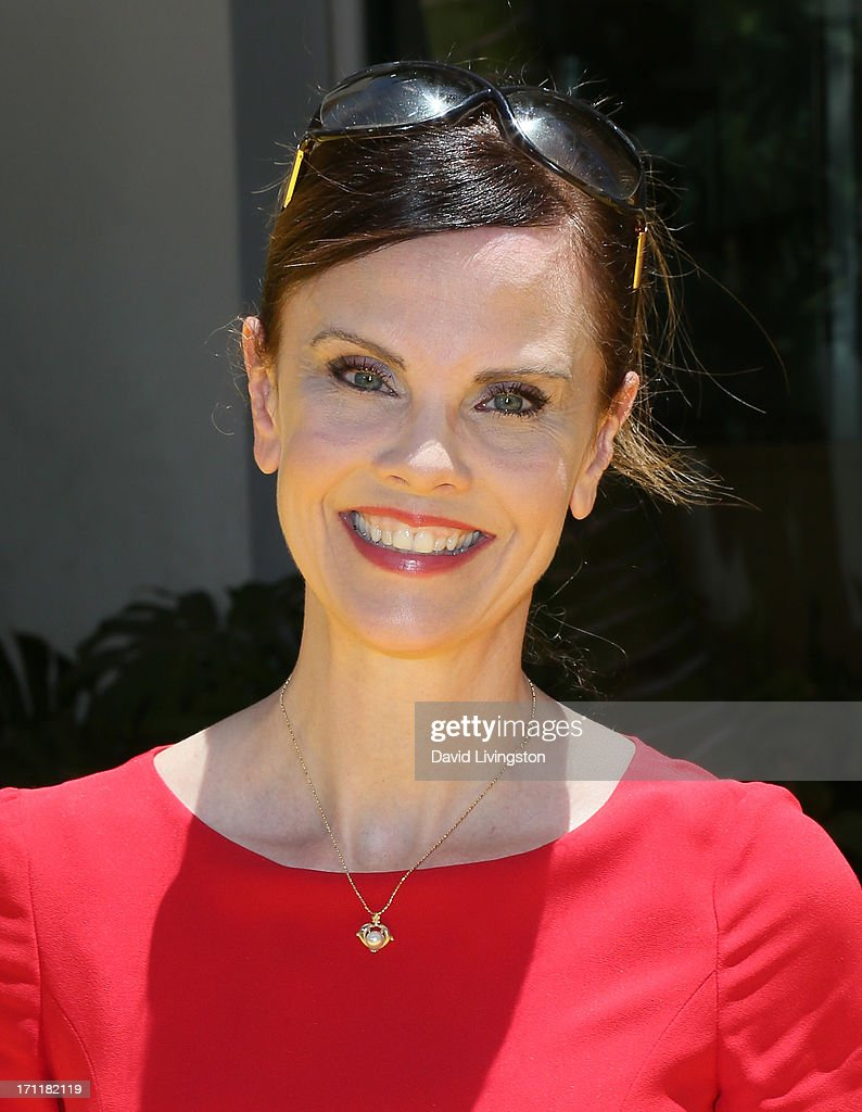 Actress Kiersten Warren attends the premiere of Universal Pictures' 'Despicable Me 2' at the Gibson Amphitheatre on June 22, 2013 in Universal City, California.