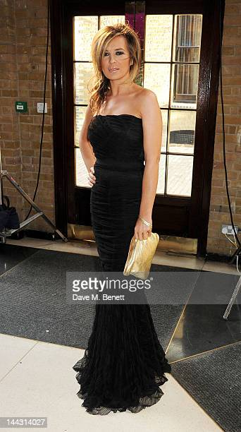 Actress Kierston Wareing attends the British Academy Television Craft Awards at The Brewery on May 13 2012 in London England