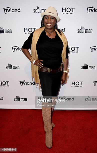 Actress Kiki Shepard attends the TV Land Goes LIVE after party at the CBS Studio Center on March 26 2014 in Studio City California
